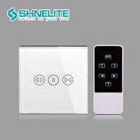 EU Standard Smart House Home Remote Control Curtains Switch Smart Control Curtaines Switch By BroadLink