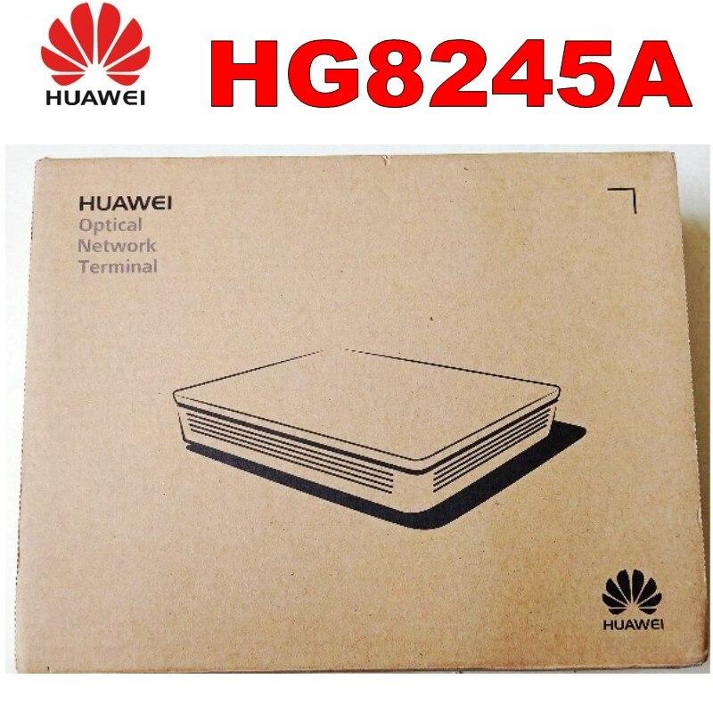 100% nuevo HG8245A EPON/GPON ONU ONT 4 * FE + 2 * POTS, SIP, Wifi + Usb doble protocolo versión en inglés al mejor precio ¡Novedad de 90%! 20 Uds. HG8010H Huawei usado de enrutador/C EPON ONU ftth de fibra, enrutador GPON ont 1GE Ont sin cajas y potencia