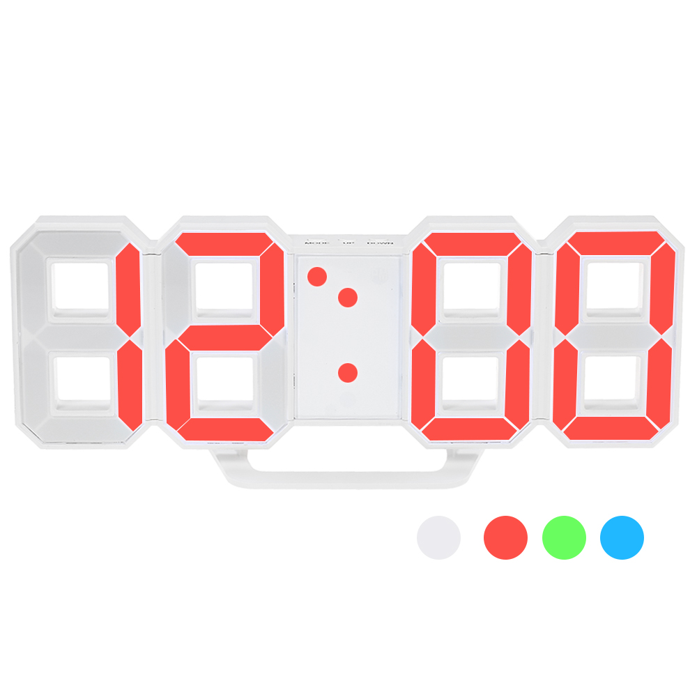 Multifunctional LED Digital Wall Clock 3