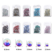 Hot Fix Rhinestones Iron On Rhinestones For Clothes High Quality SS6 SS10 SS16 SS20 SS30 Glass Crystal AB Hot Fix Stone Hot back стразы для одежды blingworld rhinestones 1440 4 ss16
