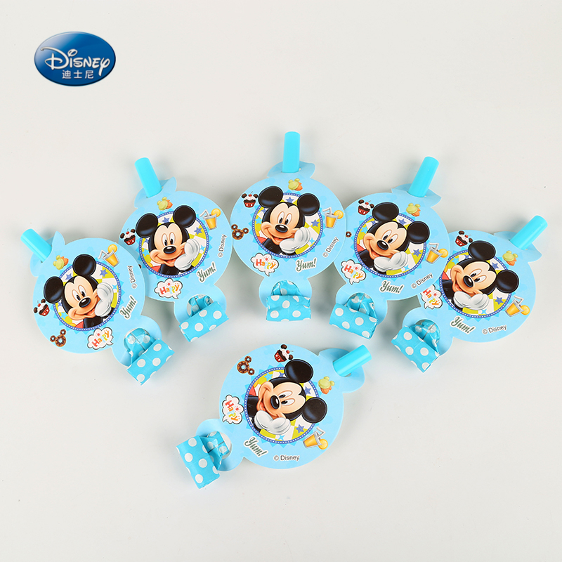Disney Mickey Mouse Theme Blowouts Shimmering Shine Baby