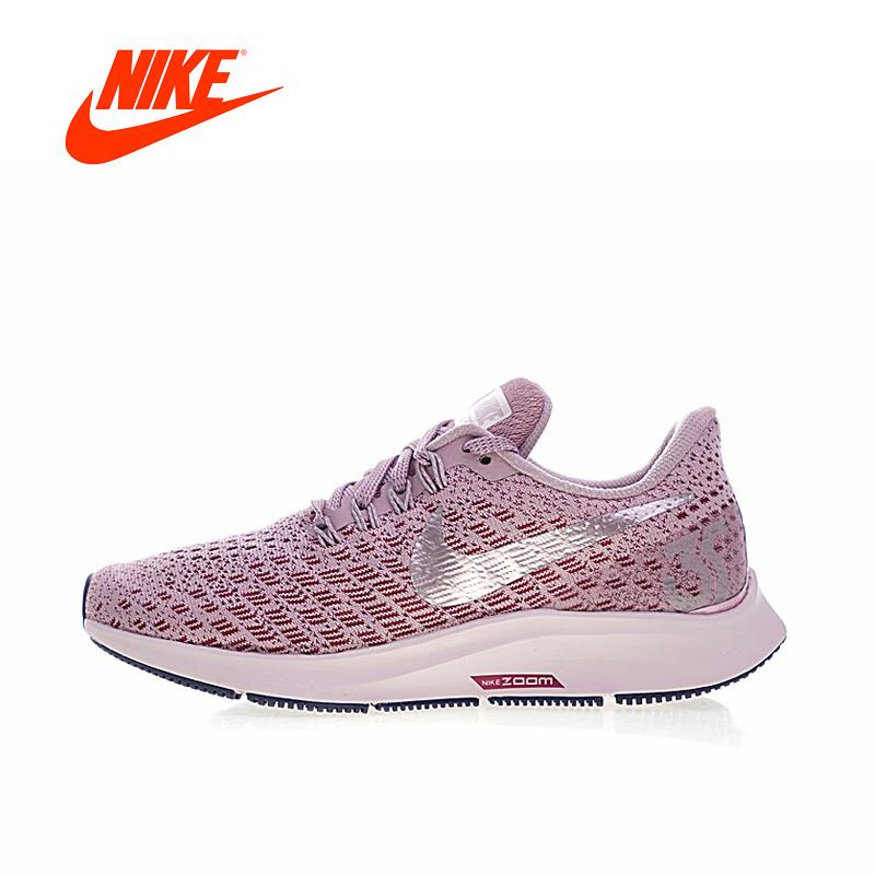 Original New Arrival Authentic NIKE AIR ZOOM PEGASUS 35 Womens Running Shoes Sneakers Breathable Sport Outdoor Good Quality original new arrival authentic nike zoom winflo5 womens running shoes sneakers breathable sport outdoor good quality