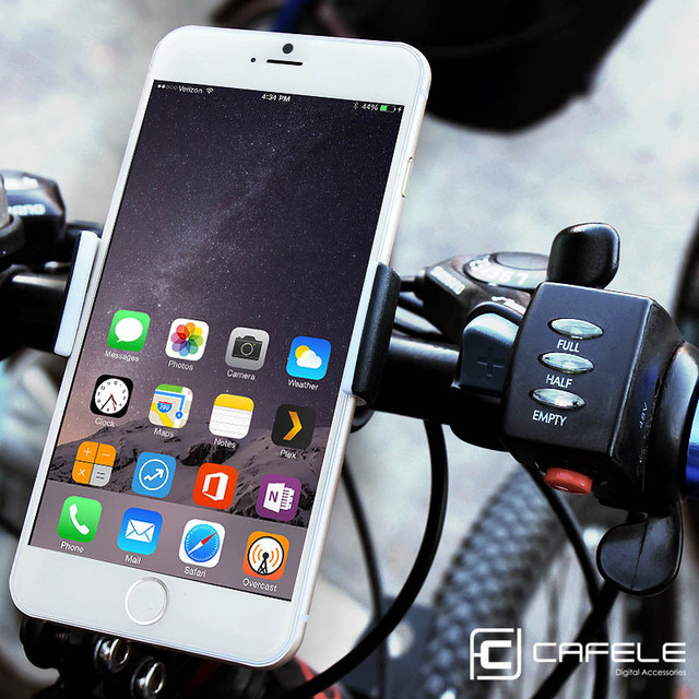 CAFELE Universal Bicycle Phone Holder Stand For Iphone 6 6S 7 Samsung Xiaomi Flexible Bicycle Handlebar GPS Mobile Phone Holder