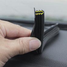 Sello de goma insonorizado para salpicadero de coche, tira de sellado para parabrisas, inserto para Toyota Prado Corolla RAV4 Camry Sienna Yaris Prius