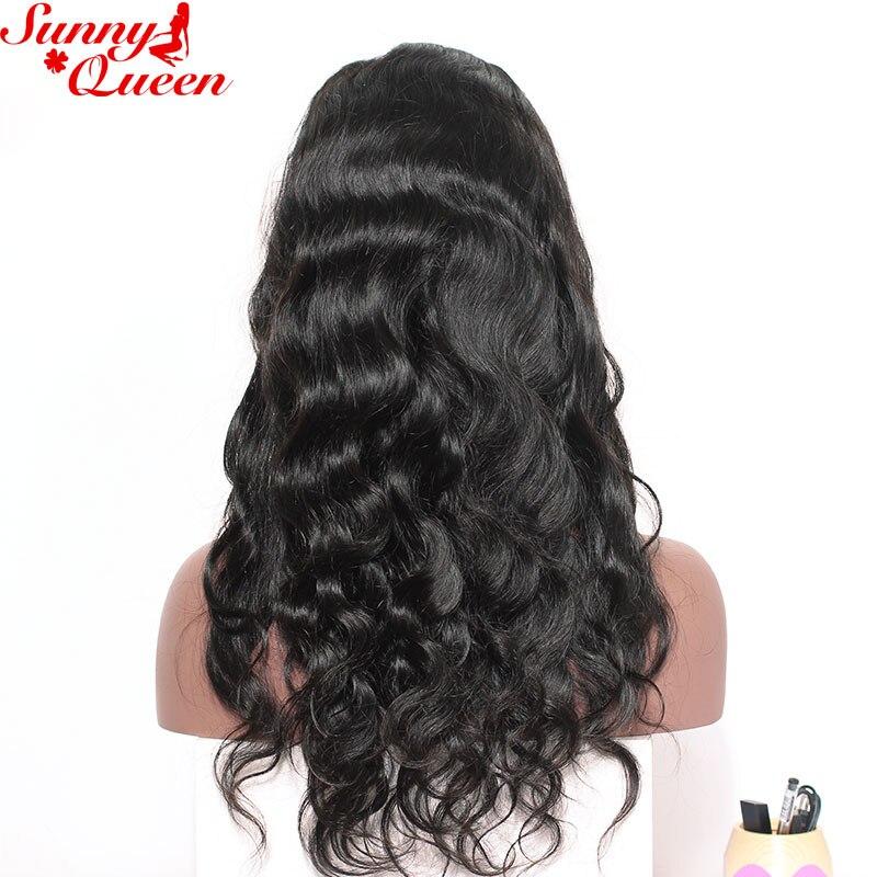 130% Ketumpatan Penuh Renda Manusia Rambut palsu Untuk Wanita Brazil - Rambut manusia (untuk hitam) - Foto 3