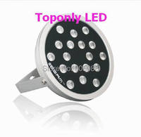 IP65 Waterproof Outdoor Round RGBW LED Wall Washer 48W,DC24V rgbw Multiple Floodlight Lamp CE&ROHS 3pcs/lot Wholesale&Retails