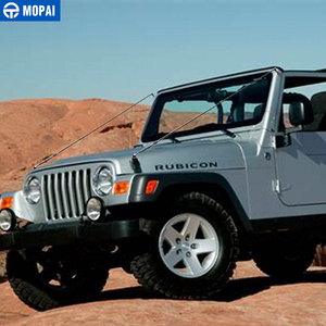 Image 5 - MOPAI Protettiva Cornici per Jeep Wrangler TJ 1997 2006 Cappuccio Chiusura Ostacolo Eliminare Corda Arto Riser Kit per Jeep accessori