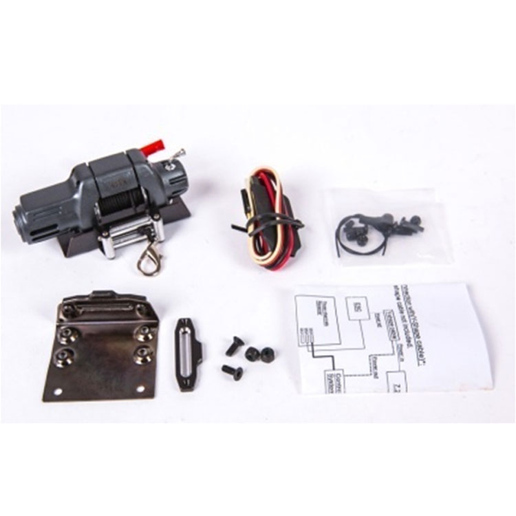Free shipping TRACTION HOBBY KM 1/8 Wrangler THJ093 simulation *1Set winch high quality