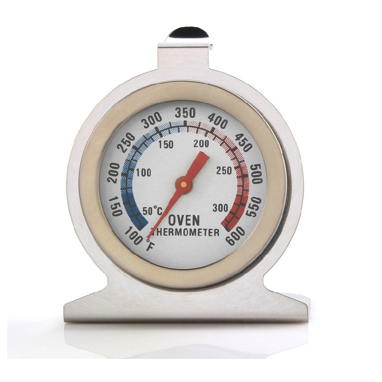 1PC Household Thermometers Food Meat Temperature Stand Up Dial Stainless Steel Oven Thermometer OK 0239