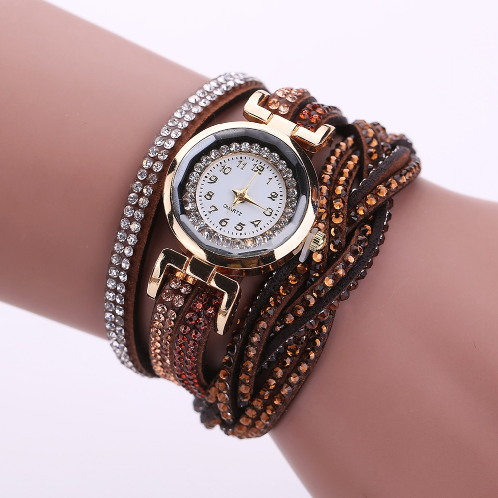 2017 new luxury bracelet watch women casual quartz watch for Luxury women