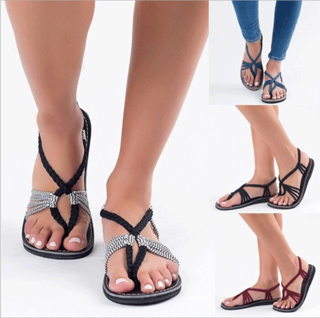 7bacdf080c Leisure Women Summer Open Toe Shoes Back Strap Shallow Platform Women  Sandals Flat with Wedges Shoes