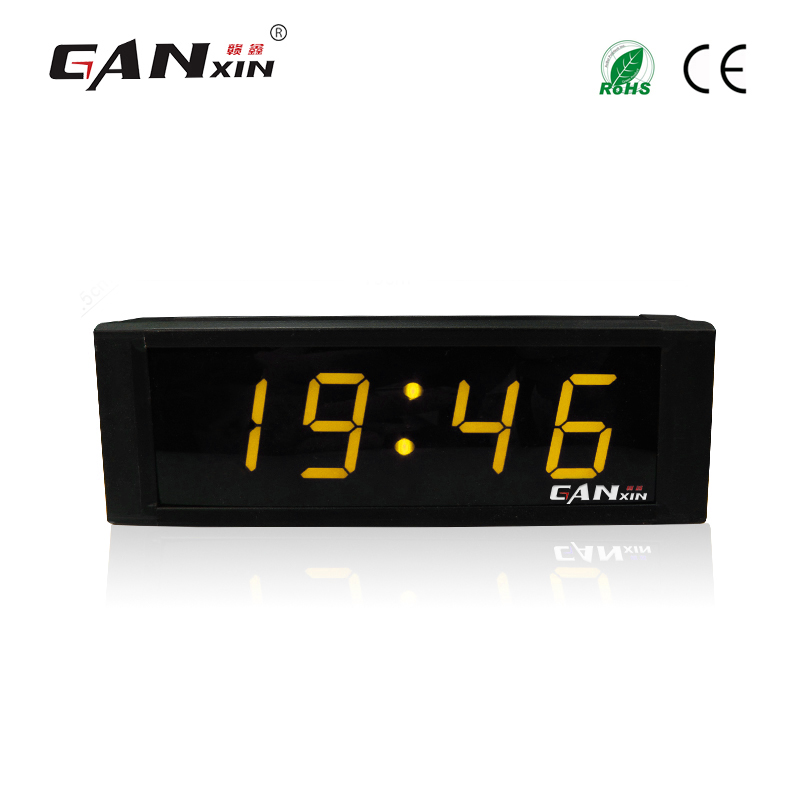 [Ganxin]1 Programmable Led Remote Control Home Led Clock Led Alarm Clock Countdown Count up Function