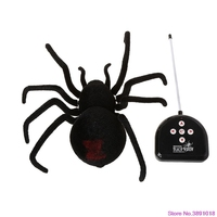 New Simulation Infrared Remote Control RC Spider Animal Kids Children Toy Gifts