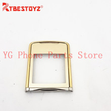 RTBESTOYZ New LCD Front Glass Screen Outer Lens With Frame For Nokia 8800SE 8800 Sirocco FRONT COVER GLASS HOUSING