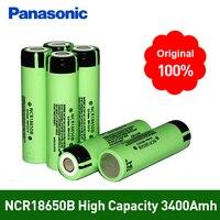 100% Nuovo Originale NCR18650B 3.7 v 3400 mah 18650 Batteria Ricaricabile Al Litio Per Panasonic batterie Torcia Made in Japan-in Batterie ricaricabili da Elettronica di consumo su