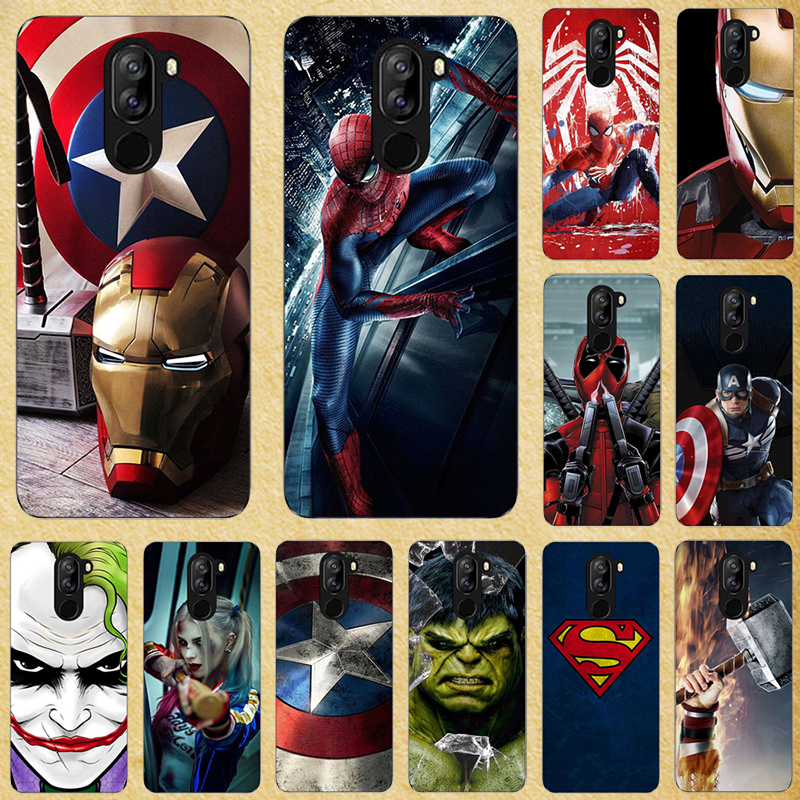 Super Hero Phone <font><b>Case</b></font> Cover For <font><b>Doogee</b></font> <font><b>X70</b></font> X60L X50 Y8C X30 N20 N10 Y9 Plus Y7 Y8 BL12000 BL7000 Pro <font><b>Silicone</b></font> Back cover image