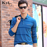 Kunyulang Strip Men Polo Shirt 2018 New Hight Quality Brand New Spring Autumn Men S Casual