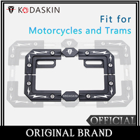 KODASKIN Aluminum Alloy License Plate Frame Fit for Motorcycles and Trams HONDA NC750X DL650 DL1000 NINJA400 KAWASAKI F800