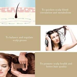 Image 4 - Konmison Anti Saç Dökülmesi Tarak RF EMS Hemşire LED Foton Lazer Saç Çıkma Teşvik Fırça Kafa Derisi Onarım Saç Masajı