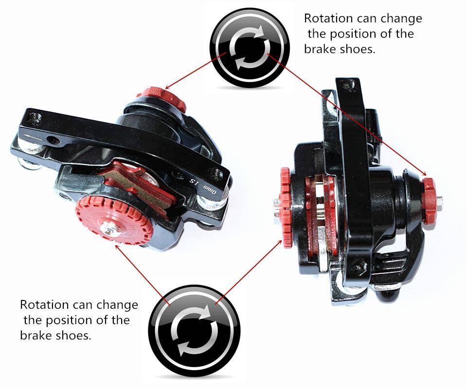 XMFOX 3.0 Disc Brakes more BB7 MTB Mountain Bike Mechanical Disc Brakes Calipers Bicycle Parts 1 Pair/2pcs