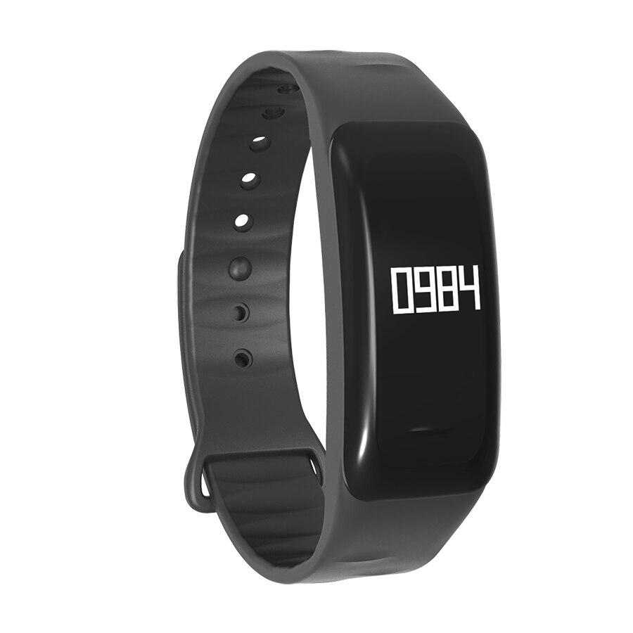 Bracelet intelligent Bluetooth C1 Bracelet fréquence cardiaque et moniteur de sommeil sport bande intelligente Tracker bande adaptée pour iOS Android