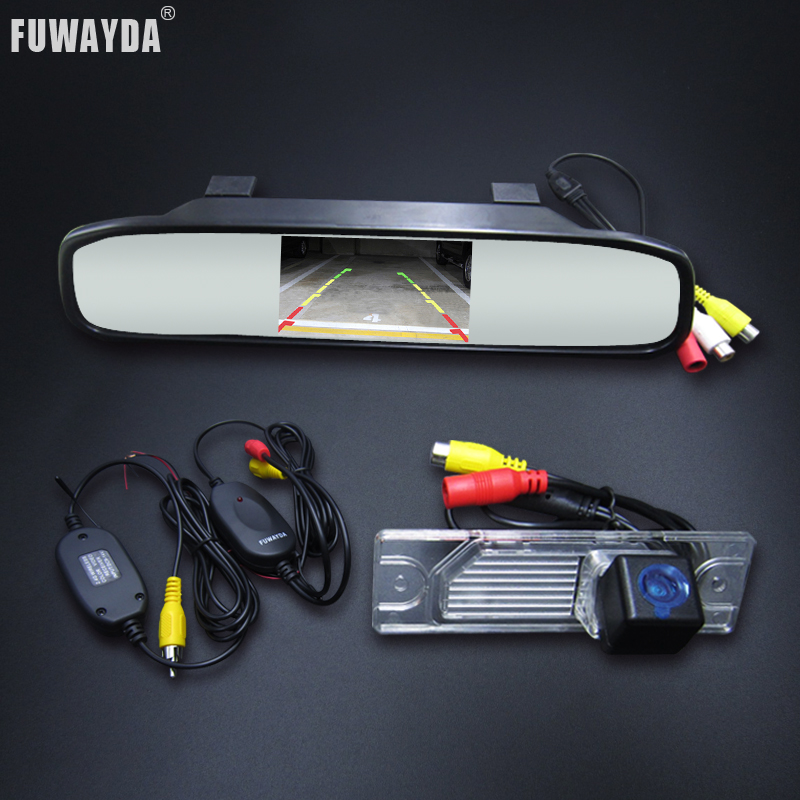 FUWAYDA SONY Parking Assistance Car Rear View Mirror Monitor Car Rear view Reverse Parking Camera For Renault Koleos 2009 2014