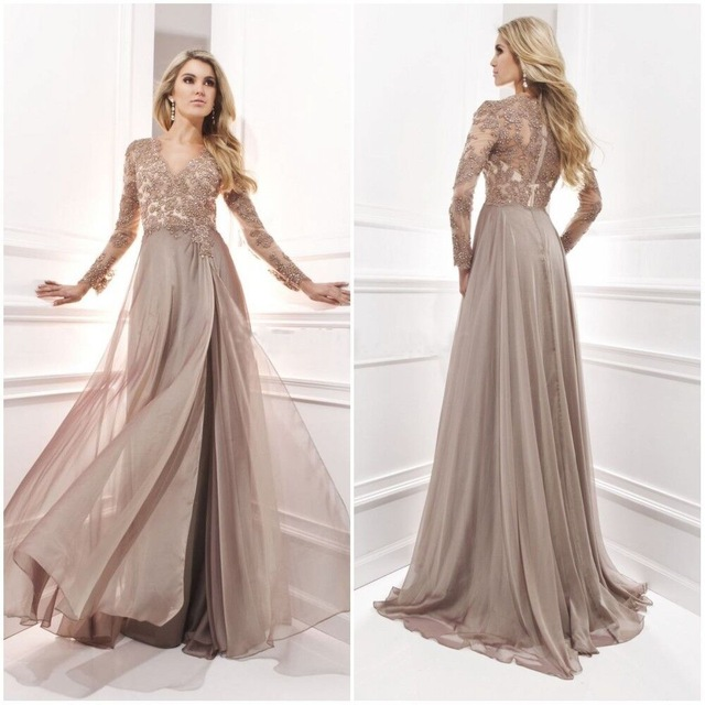 Online Buy Wholesale champagne mother of the bride dresses from ...