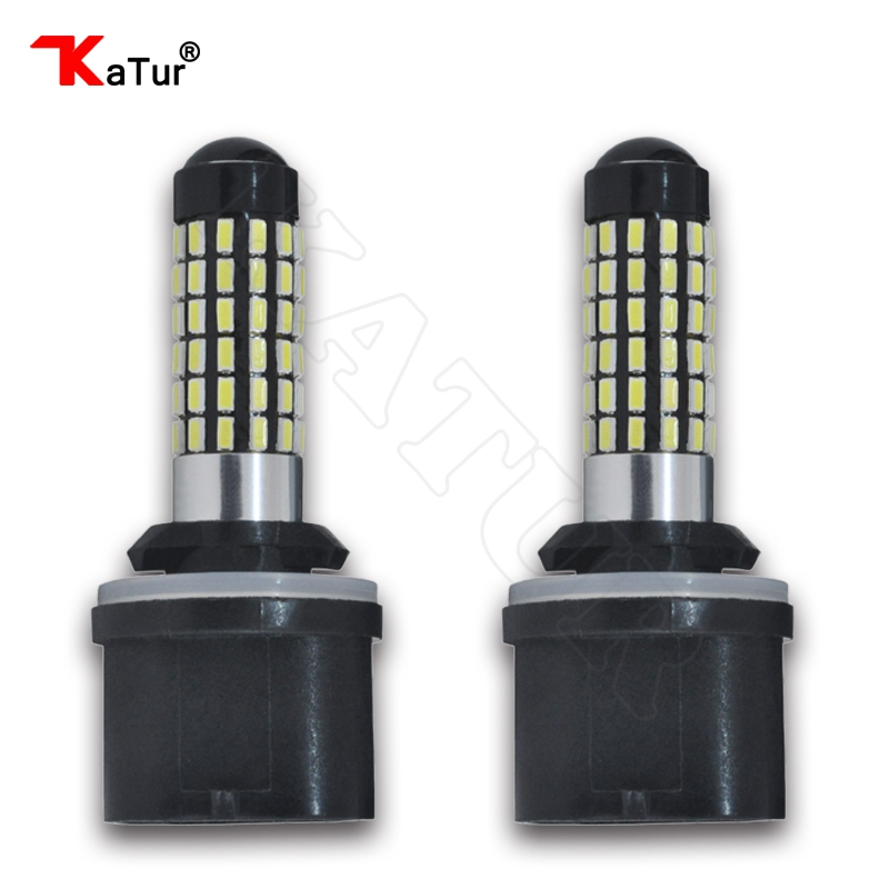 2 Pieces H27 880 Led Bulb For Cars H27W/1 H27W1 Auto Fog Light DRL 780Lm 12V 880 LED Bulbs Driving Daytime Running Light