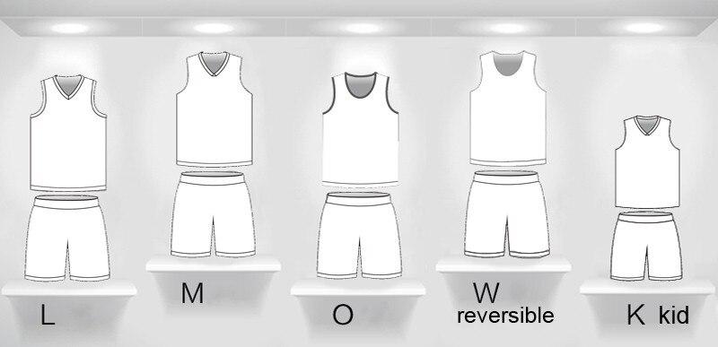 DIY color popular design Basketball uniform Custom any pattern-in