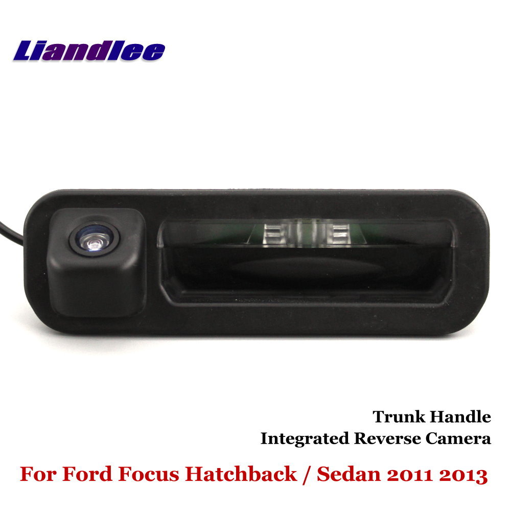 Liandlee For Ford Focus Hatchback Sedan 2011 2013 Car Reverse Camera Rear View Backup Parking Camera