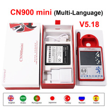 CN900 Mini Newest Version V5.18 Transponder Hand held Key Programmer CN900MINI Support Multi Language for 4C 46 4D 48 G Chips
