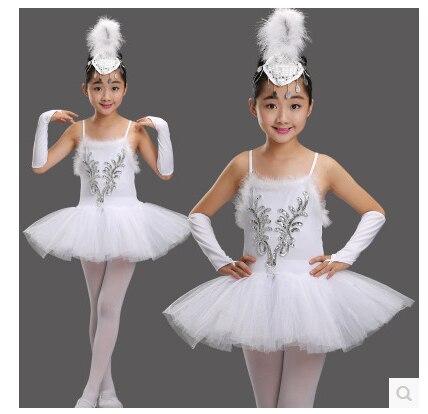 c7f152231c New models New Girls Ballerina Dress Kids White Swan Lake Ballet Costumes  Dance Wear Children Strap-in Ballet from Novelty & Special Use on  Aliexpress.com ...