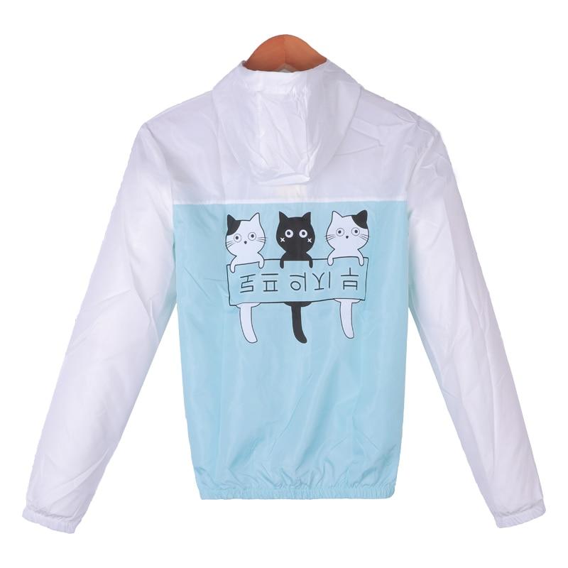 Jacken Frauen 2019 Neue Mode Frauen Mit Kapuze Grundlegende Jacke - Damenbekleidung - Foto 2