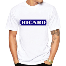 New fashion funny t shirts ricard brand T-Shirt 2019 Fashion tshirt men t-shirt O-Neck  Casual  Short  Broadcloth  shirt men женские блузки и рубашки shirt new brand 2015 o