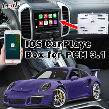 Plug & Play IOS CarPlaye Box for 2010-2016 Porsche Cayenne Panamera PCM3.1 with Waze Siri Command Mirrorlink Mutually Control