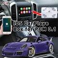 Plug & Play apple carplay Box для 2010-2016 Cayenne 911PCM3.1 с командой Waze Siri Mirrorlink взаимное управление