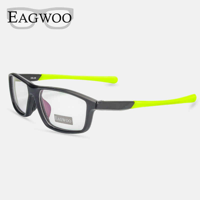 a4cac9024e4 Sports Super Light TR Optical Frame Prescription Men Eyeglasses Sporting  Cycling Full Rim Spectacle with Anti