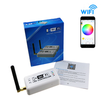 Wifi Led Controller DC12v 24v Dimmer 12A 2 4Ghz RGB Color Temperature Dimmable Mini Smart Home