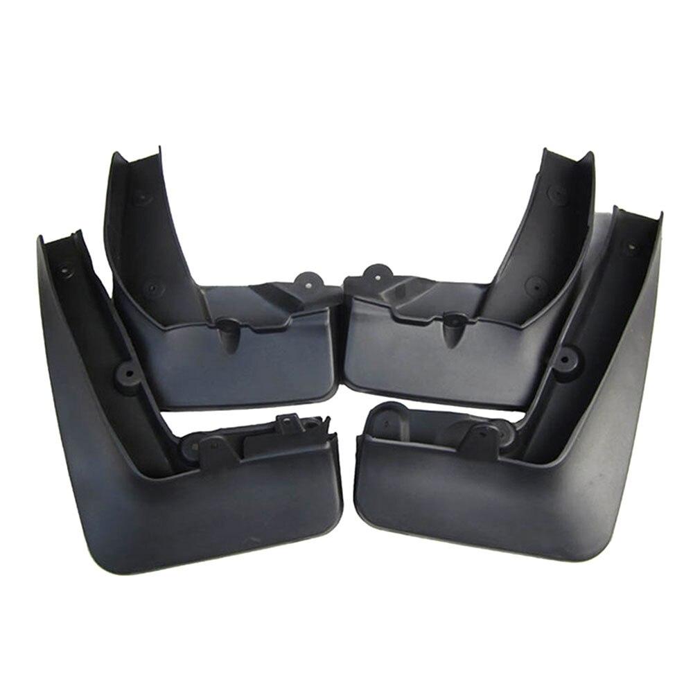 BBQ @ FUKA 4 pièces/ensemble Auto moulé garde-boue garde-boue Anti-éclaboussures garde-boue côté garde-boue adapté pour X1 E84 2010-2015 voiture-style