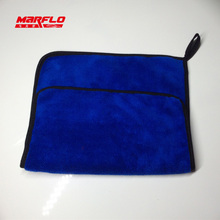 Microfiber Towel Cloth 1000gsm Car Care Wash Blue Red 2pcs in one polybag