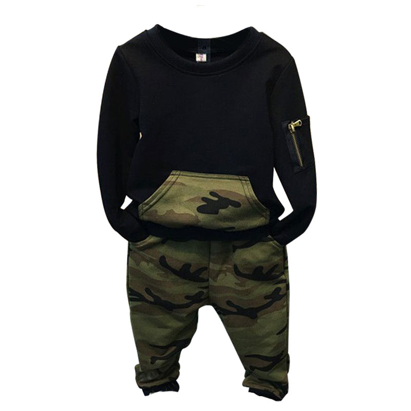 7dd61d381 2-6yrs primavera Moda Hombre, niños del algodón t-shirt + Pant 2 unids ropa  deportiva, Ropa femenina de bebé traje, kids set de algodón