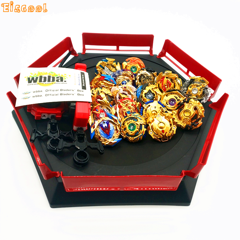 Gold style Beyblade Burst Toys With Launcher Starter and Arena Bayblade Metal Fusion God Spinning Top Bey Blade Blades Toys