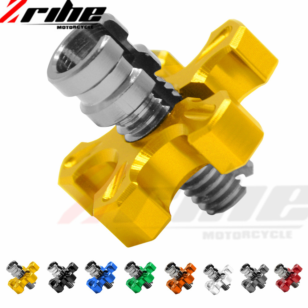 For YAMAHA YZF R1/R6 YZF-R6 YZF-R1M YZF-R1S YZF600R Clutch Cable Wire Adjuster M8/M10 Motorcycle Accessories CNC AluminumFor YAMAHA YZF R1/R6 YZF-R6 YZF-R1M YZF-R1S YZF600R Clutch Cable Wire Adjuster M8/M10 Motorcycle Accessories CNC Aluminum