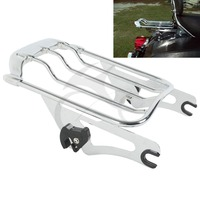Air Wing Two Up Luggage Rack For Harley HD Touring Street Glide Road king 2009 2017 FLTR FLHX Road Glide motorcycle