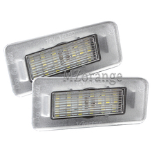 LED License Number Plate Lights for Hyundai Avante Elantra 11-13 I30 12-14 Kia Ceed Cerato Forte with CE E-Mark lamps