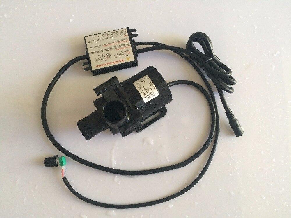 2/lot 5-24 V Mini sans brosse DC pompe DC50A-2450A 3600 LPH 5 M, puissance réglable démarrage progressif haut débit sûr pompe de Circulation