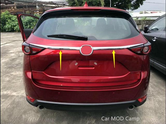 For Mazda CX 5 CX5 2017 2018 ABS Chrome Rear Tail Trunk ...