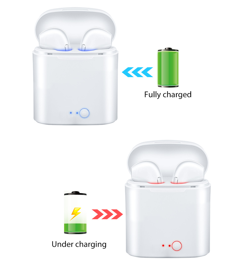 YODELI Airpods Bluetooth Earphone I7S TWS Twins Wireless Headphones Bass Headset With Microphone For iPhone 6 7 8 S Xiaomi Phone (8)