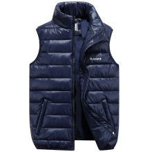 Men'S Casual Thick Vests Jackets Plus Size Sweatshirts 6XL Parkas Men Hooded Winter Sleeveless Jacket Coats Warm Male Tops Z20