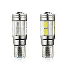 1X Aluminum Body High Power HID COB T10 Auto Car LED Bulb light W5W 194 192 158 168 921 CANBUS Parking Fog Interior lamp